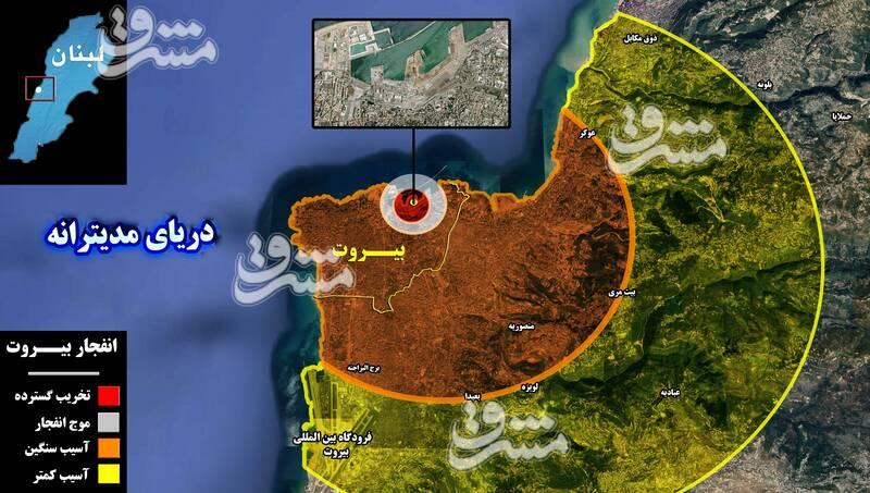 2879722 - جزئیات پروژه جدید برای تکرار سناریوی سال ۲۰۰۵ و تسخیر دوباره لبنان + نقشه میدانی و عکس