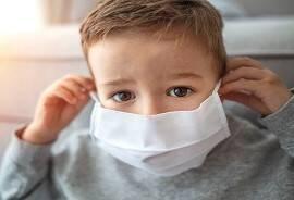 WHO: کودکان ۶-۱۱ ساله هم باید در مواقعی ماسک بزنند