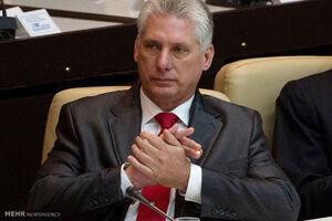 میگوئل دیاز کانل برمودز رئیس جمهور کوبا