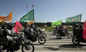 گردانی از دل محلهای در تهران با ۱۲ شهید مدافع حرم