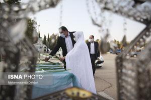 عکس/ اهدای هزار سری جهیزیه در شیراز