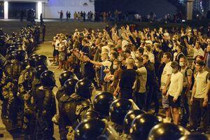 تصاویر جدید از درگیری ها دربلاروس