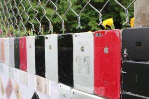 عکس/ ساخت یک دیوار با موبایل اَپل