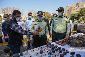 دستگیری خرده فروشان و توزیع کنندگان مواد مخدر