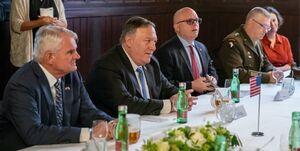 سفر پامپئو به اروپا با محور تقابل با چین، روسیه و ایران