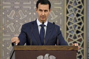 بشار اسد از عزم سوریه برای همکاری با ایران علیه آمریکا خبر داد