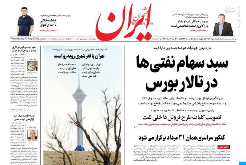 ایران: سبد سهام نفتیها در تالار بورس