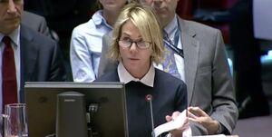 دفاع نماینده آمریکا در سازمان ملل از قطعنامه ضدایرانی