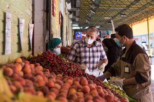 میزان اختلاف قیمت محصولات میادین میوه و تره بار با سطح شهر