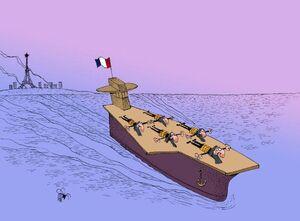 کاریکاتور/ بازگشت ماکرون به لبنان برای تغییر!