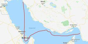 جدایی نیمی از خلیجفارس از ایران +عکس