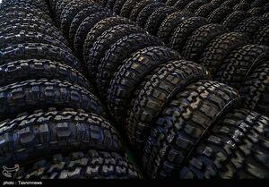 عکس/ خط تولید تایر خودروهای تاکتیکی توسط وزارت دفاع