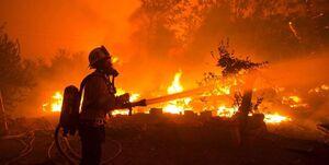 تخلیه اجباری ساکنان شمال «لسآنجلس» به علت آتشسوزی مهیب +عکس و فیلم