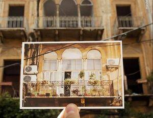 عکس/ خانههای بیروت قبل وبعد از انفجار