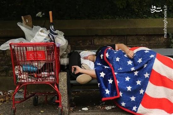 فیلم/ حقایقی تکاندهنده از فقر و گرسنگی در آمریکا