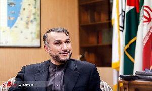 امیرعبداللهیان: امارات در آتش صهیونیسم گرفتار میشود
