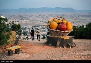 عکس/ بزرگترین تفرجگاه کوهستانی ایران