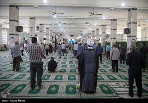 عکس/ برگزاری نماز جمعه کرمانشاه پس از پنج ماه تعطیلی