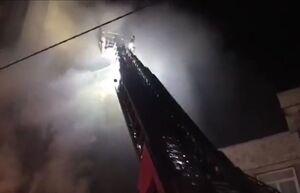 انفجار و آتشسوزی در خیابان فخر رازی