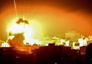 حملات هوایی و توپخانهای اسرائیل به غزه