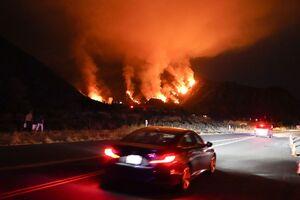 تصاویر جدید از آتش سوزی مهیب در جنگلهای لس آنجلس