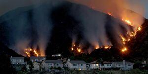 ادامه آتشسوزیها در لسآنجلس آمریکا