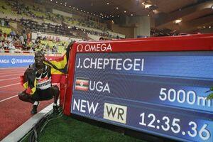 رکورد دوی ۵۰۰۰ متر جهان شکست