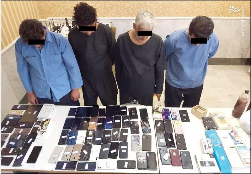 مافیای گوشیهای سرقتی! +عکس