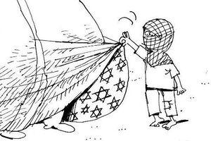کاریکاتور/ علنی شدن روابط پنهان شیوخ امارات با رژیم صهیونیستی