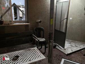 عکس/خسارت حمله راکتی به شهرکهای صهیونیستنشین