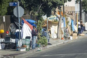 عکس/ فرار ثروتمندان از لس آنجلس