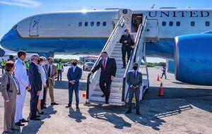 پامپئو به تنها کشور حامی آمریکا از قطعنامه ضد ایرانی سفر کرد