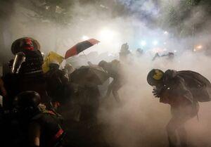 پلیس پرتلند با از سرگیری اعتراضات باز هم اعلام وضعیت شورش کرد