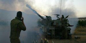 حمله خمپارهای رژیم صهیونیستی به مواضع حماس در غزه