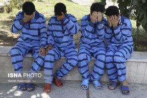 عکس/ متلاشی شدن باندهای سرقت در شیراز