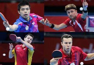 ۱۰ بازیکن بزرگ تنیس روی میز که دستشان به مدال المپیک نرسید+تصاویر