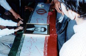 تشییع پیکر شهید «علیرضا خانبابائی» به روایت تصاویر
