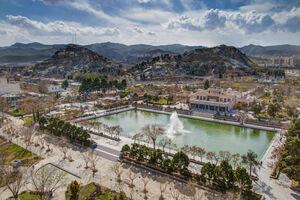 تصویر دیدنی از بوستان کوهسنگی مشهد
