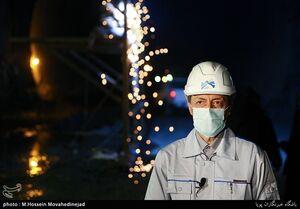 بازدید فتاح از  بازدید از فاز دوم آزادراه تهران - شمال