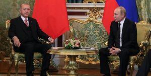 اردوغان و پوتین در تماسی تلفنی بحرانهای منطقه را به بحث گذاشتند