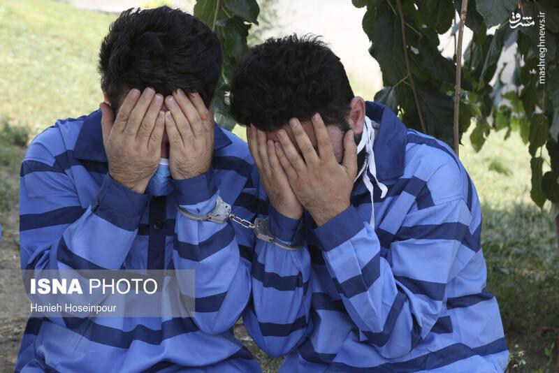 2884388 - عکس/ متلاشی شدن باندهای سرقت در شیراز