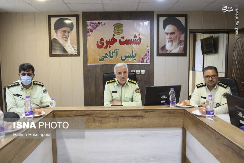 2884391 - عکس/ متلاشی شدن باندهای سرقت در شیراز