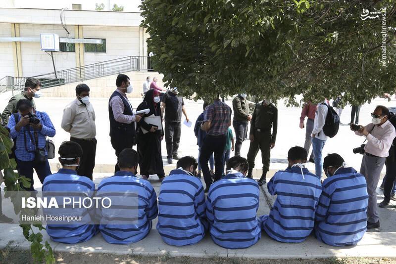 2884393 - عکس/ متلاشی شدن باندهای سرقت در شیراز