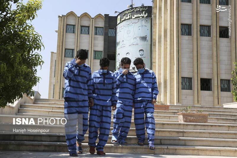 2884394 - عکس/ متلاشی شدن باندهای سرقت در شیراز