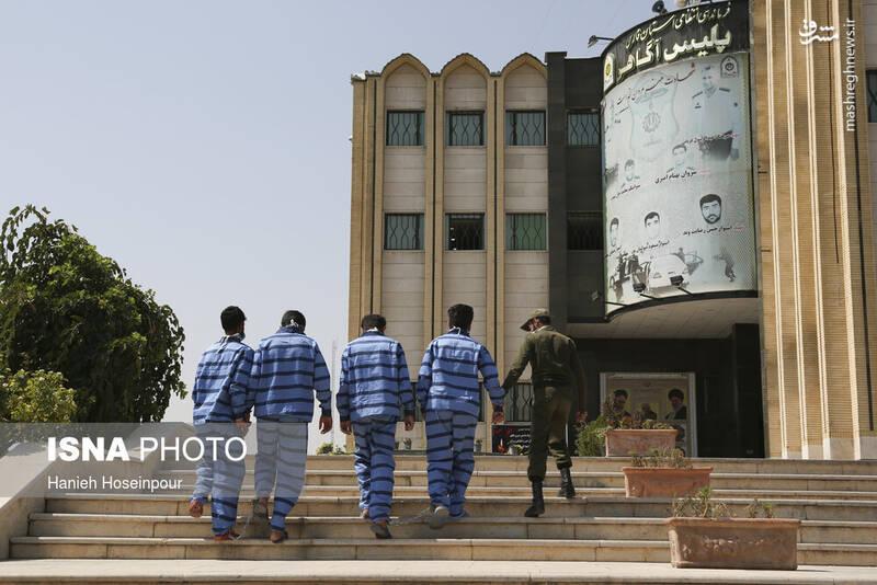 2884395 - عکس/ متلاشی شدن باندهای سرقت در شیراز