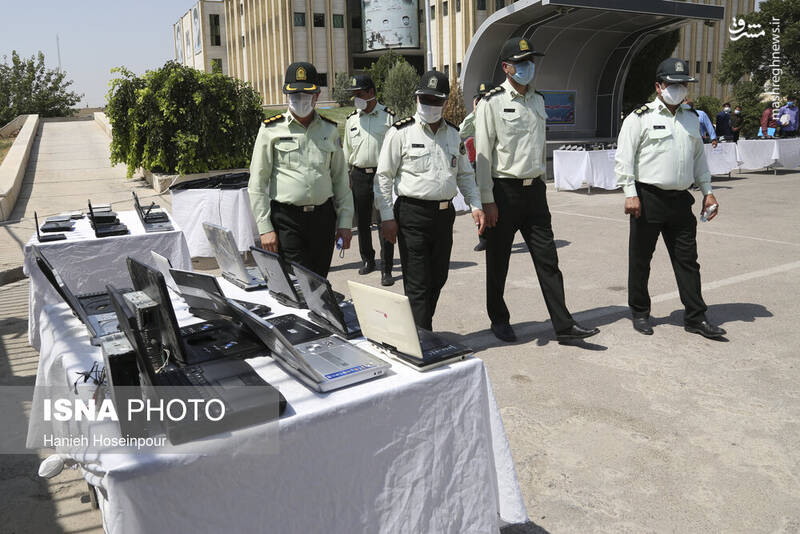 2884397 - عکس/ متلاشی شدن باندهای سرقت در شیراز