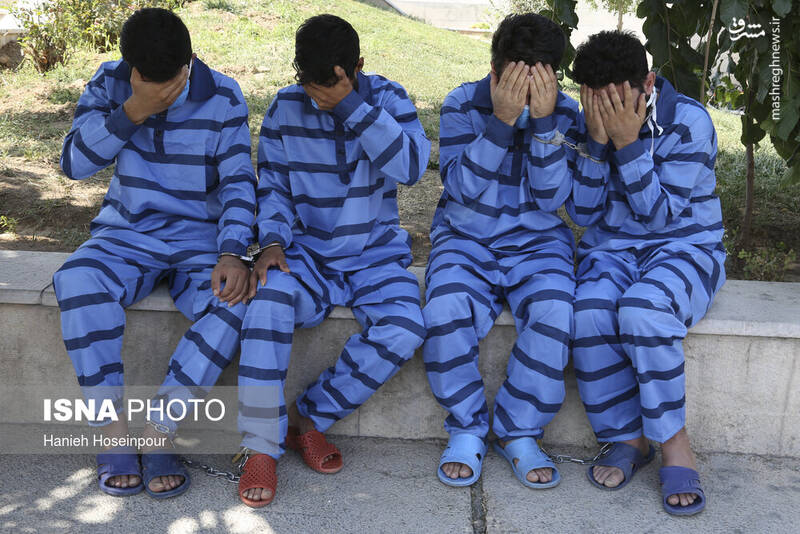 2884404 - عکس/ متلاشی شدن باندهای سرقت در شیراز