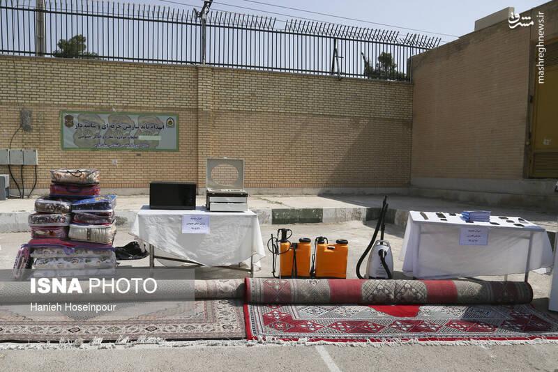 2884406 - عکس/ متلاشی شدن باندهای سرقت در شیراز