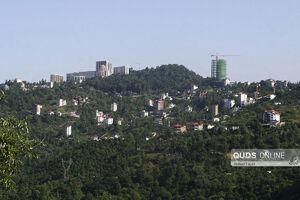 عکس/ نابودی جنگلهای سبز رامسر برای ساخت ویلا