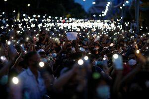 عکس/ اعتراضات ضد دولتی در بانکوک
